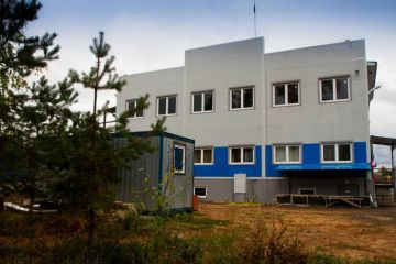 Генподряд на проектирование и реконструкцию со строительством логистического комплекса, базы хранения с АБК в г. Луга